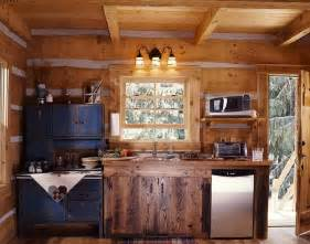 Log Cabin Kitchen Designs Log Guesthouse Diary Entry 4 A Tiny Log Cabin