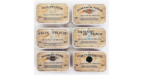Harry S Detox Tea harry potter teas weirdly wonderful harry potter finds