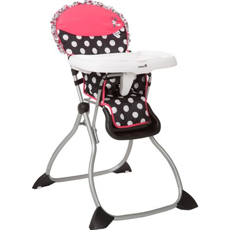 When To Use High Chair For Babies by Disney Baby Minnie Mouse Coral Flowers Fast Pack High