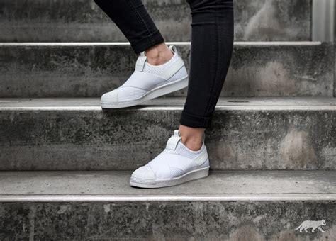Adidas Supetstar Slip On White adidas superstar slip on w ftwr white ftwr white