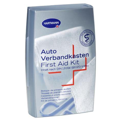 Verbandskasten Auto Apotheke by Hartmann Auto Verbandkasten Din13164 Silber 1 St 252 Ck Online
