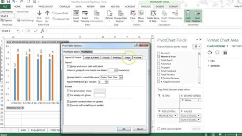 how to learn pivot table in excel 2013 tutorial how to auto refresh pivot chart data in excel 2013