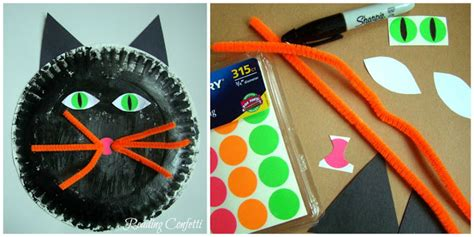Construction Paper Crafts For 2 Year Olds - 3 paper plate crafts for reading confetti