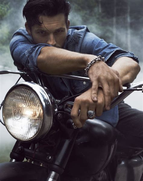Motorradfahren Ben by Ben Hill Is A Wild Spirit For David Yurman Fall 2012