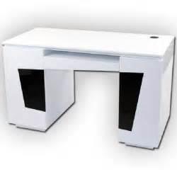 bureau laqu 233 blanc origami achat vente bureau bureau