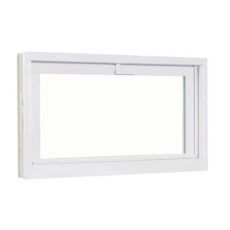replacement basement hopper windows american craftsman 30 75 in x 22 75 in white hopper