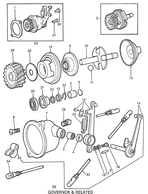 8n ford tractor parts diagram ford 9n 2n 8n governor related
