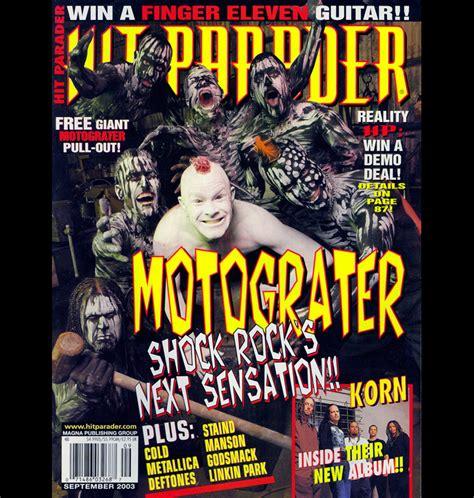 cancel magazines motorgrater hit parader cover c annamaria disanto