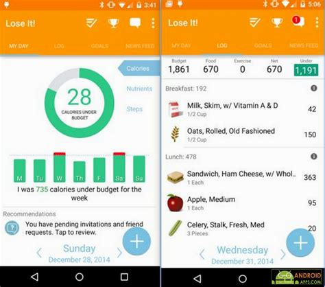 lose it app for android the best fitness and health tracking apps for android appinformers