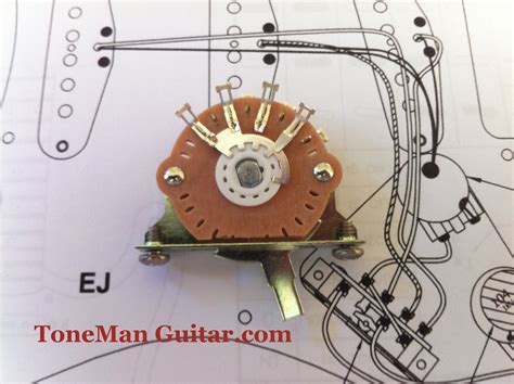 oak grigsby 5 way switch for fender stratocaster