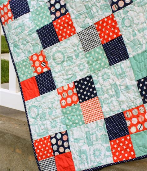 Simple Patchwork - free charm pack quilt patterns u create