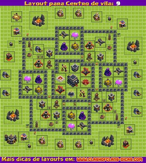 layout maker clash of clans layouts para clash of clans cv 9 atualiza 231 227 o 4