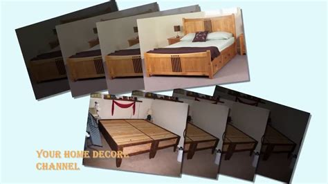 how to build a king size bed frame with storage how to build a king size bed frame with storage king
