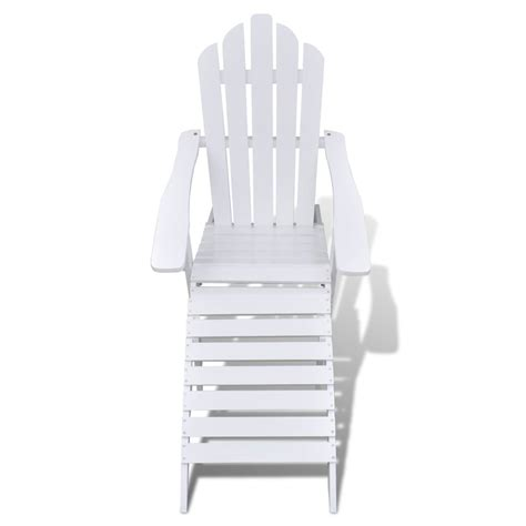 white chair with ottoman wood chair with ottoman stool white vidaxl co uk