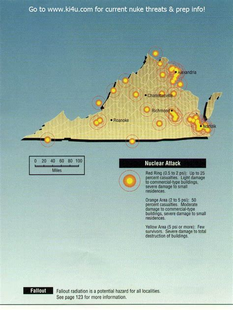 shelters in va nuclear war fallout shelter survival info for virginia with fema target maps