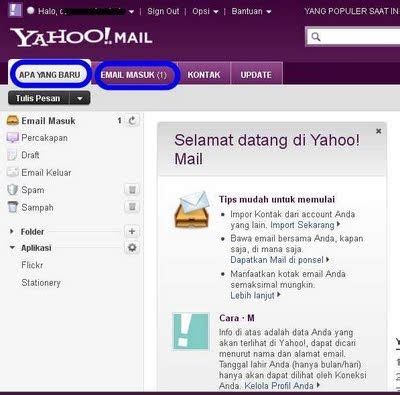 membuat catatan kaki pada yahoo mail cara membuat email yahoo terbaru imedz com