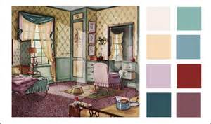 1930 armstrong bedroom color scheme green neutral and