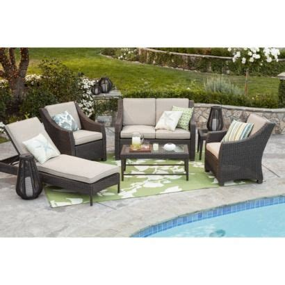 Threshold Belvedere Patio Furniture Threshold Belvedere Wicker Patio Conversation Furniture Collection At Target Patio