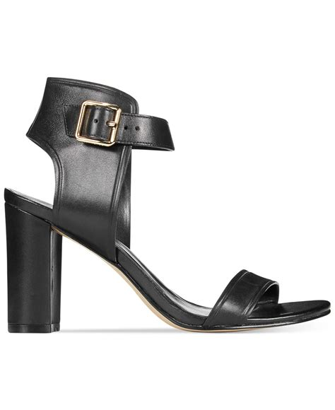 cole haan high heels cole haan s barra high heel sandals in black lyst
