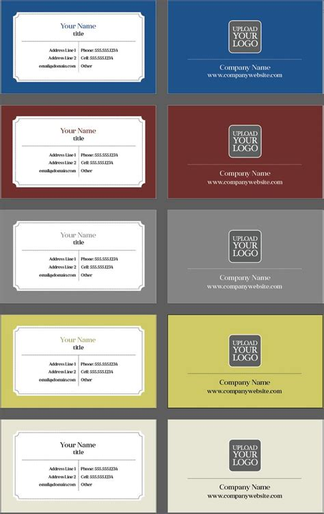 classic business cards templates 11 best images about design tool templates traditional