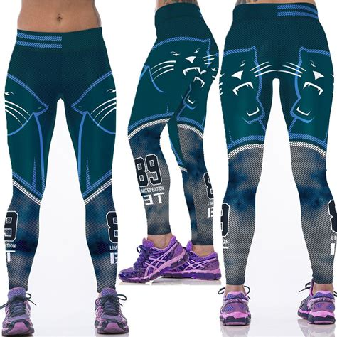 pattern stretch leggings 2016 women american football pattern 3d leggings stretch