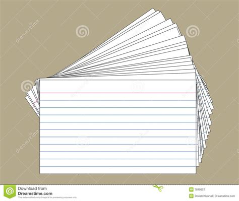 what to make with index cards stack of index cards stock vector image of lined index