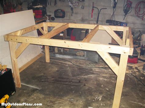 diy  game table myoutdoorplans  woodworking