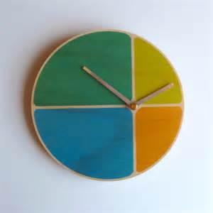 clock made of clocks contemporary and handmade wall clocks
