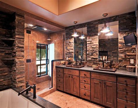 Diy rustic bathroom vanity bathroom rustic with stone floor copper bathroom sink