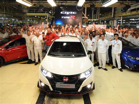Emblem Mobil Honda Type R Putih Merah new honda civic type r untuk jepang datang dari inggris mobil baru mobil123