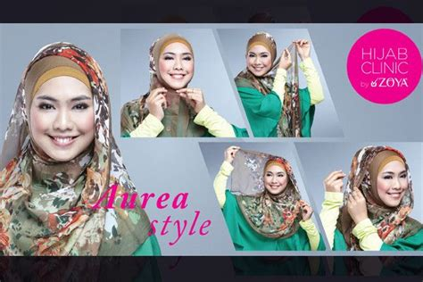 tutorial hijab segitiga zoya tutorial hijab syar i aurea style by zoya zoya lebih
