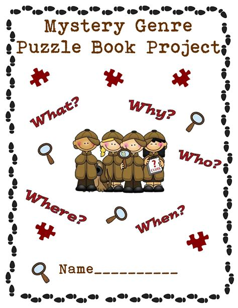 mystery book report projects my jigsaw puzzle book project scholastic