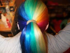 gorgeous rainbow hair hair colors ideas