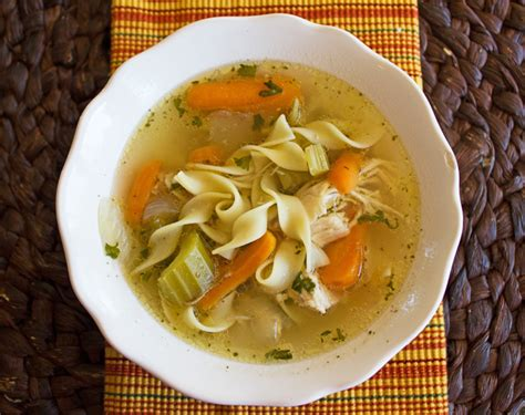 chicken noodle soup recipe crock pot