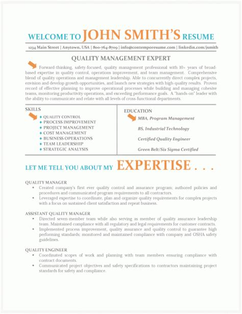 Quality Managers Resume by Quality Manager Resume