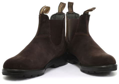 Unify Suede Uk44 מוצר new blundstone 1458 brown suede unisex chelsea boots size uk 10 eu 44