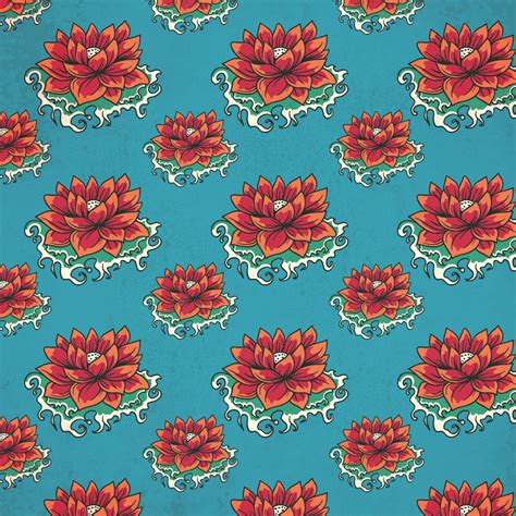 japanese pattern brush vintage japanese pattern with flowers photoshop vectors