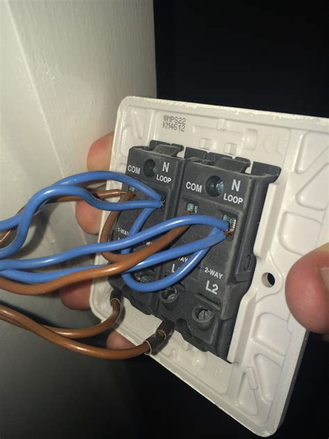 electrical how do wire this 2 dimmer switch home