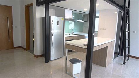 Greenwich Singapore Studio Apartment For Rent Youtube