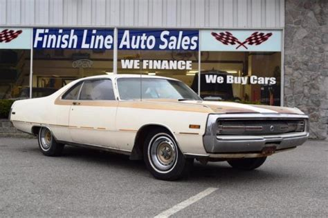 Chrysler 300 Coupe by Auction For 1970 Chrysler 300 Coupe Hurst Edition With