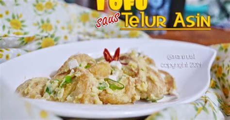 membuat saus telur asin my lovely notes tofu saus telur asin