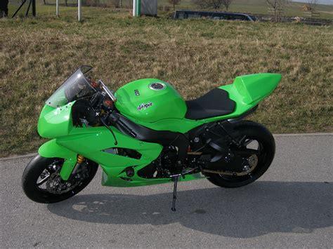 Ninja Motorrad Ps by Umgebautes Motorrad Kawasaki Ninja Zx 6r Von Motorrad