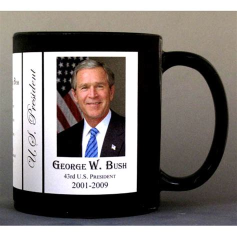 george w bush u s presidents history com 43rd us president george w bush historymugs us