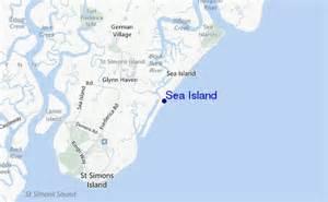 sea island surf forecast and surf reports usa