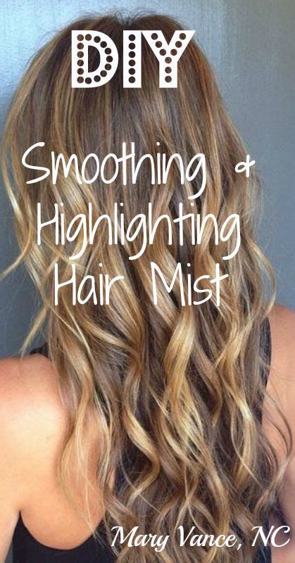 homemade reconstructor for hair diy strengthening smoothing and highlighting hair mist