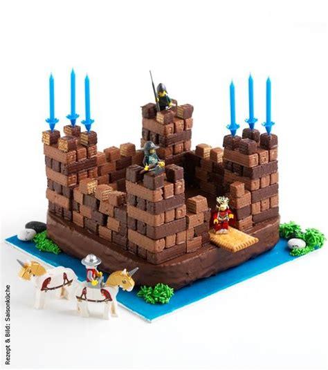Ritterburg Torte Kuchen Ritter Burg Kindergeburtstag