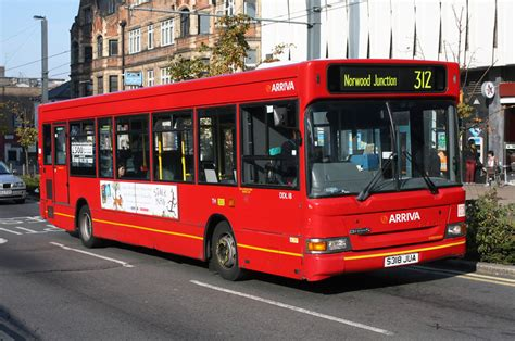 Arriva South Croydon Garage by Routes Route 312 Norwood Junction South
