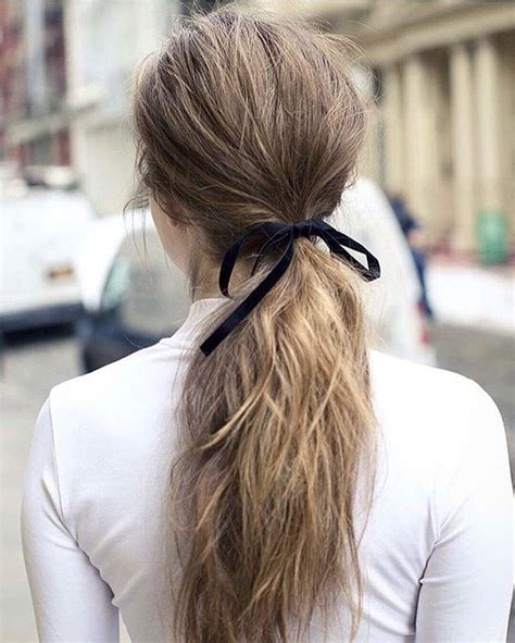 next day hair styles 25 best ideas about messy low ponytails on pinterest