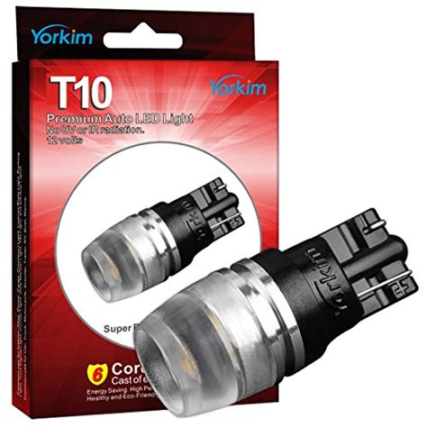 194 light bulb wattage 194 led light bulb yorkim t10 wedge high power 1w white