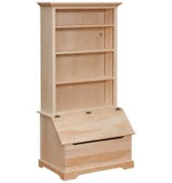 bookshelves and storage 35 inch bookshelf slant front box chest wood you
